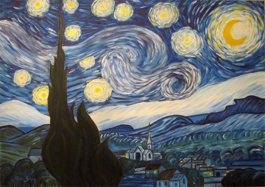vincent van gogh essays starry night